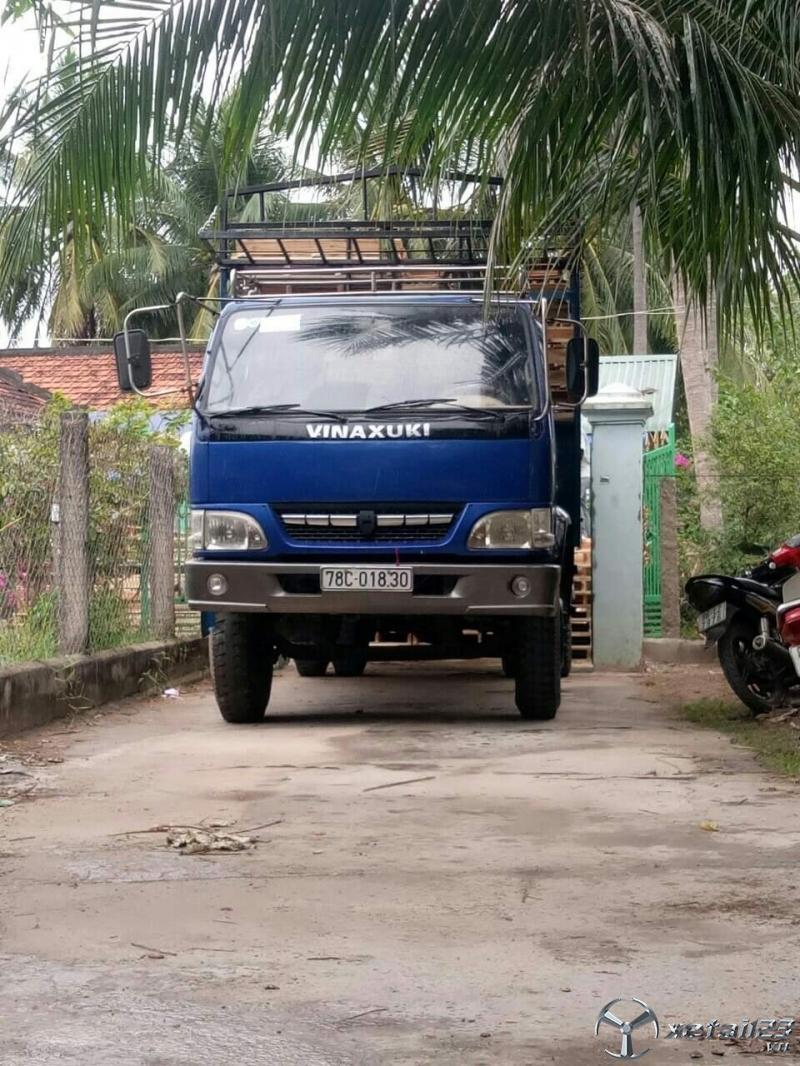 Cần bán Vinasuki đời 2008 thùng mui bạt với giá 135 triệu