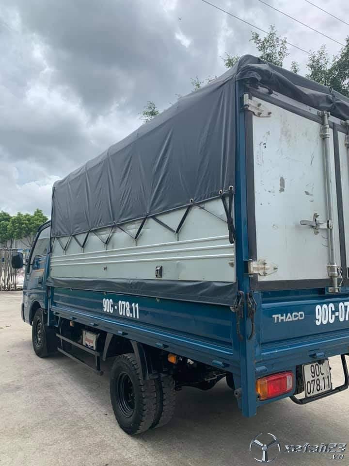 Bán Thaco K190 sản xuất năm 2017 , đăng kí tháng 3/2018 thùng mui bạt giá 285 triệu