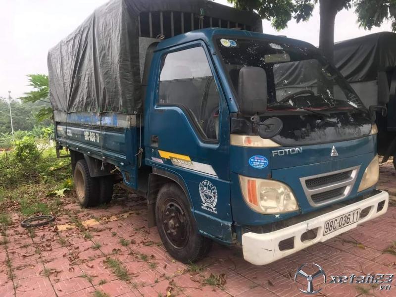 Xe Thaco sản xuất năm 2008 thùng mui bạt cần bán với giá chỉ 62 triệu