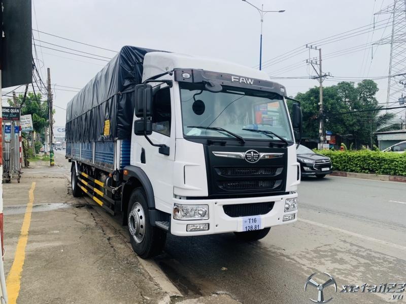 Bán xe tải 8 tấn 9 tấn thùng dài Đại lý xe tải FAW 8 tấn thùng dài 8m giá rẻ ở Bình Dương.