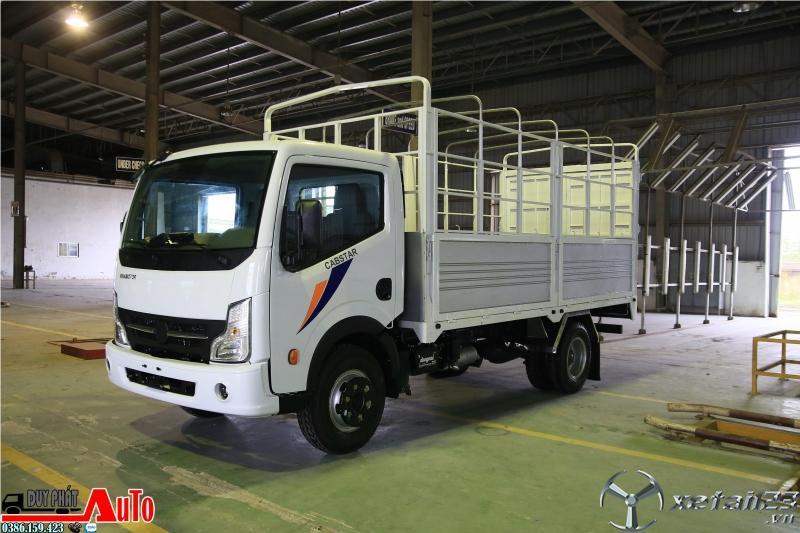 Xe tải 2 tấn Nissan thùng dài 4m3, xe tải vinamotor 1t9 vào thành phố giá rẻ.