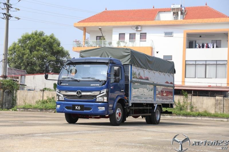 Xe tải 5 tấn thùng dài 5m giá rẻ, Nissan - vinamotor K6 xe tải 5 tấn giá rẻ 2020.