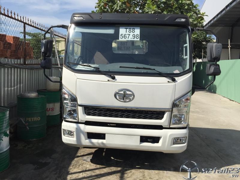 Xe tải 7 tấn cũ rớt đời 2017,giá xe tải faw 7 tấn cũ thùng dài 5m tại Bình Dương.