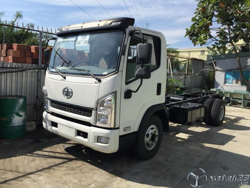 Xe tải 7 tấn cũ - xe tải faw 7 tấn cũ rớt đời 2017 - thùng dài 5m - giá SIÊU RẺ.