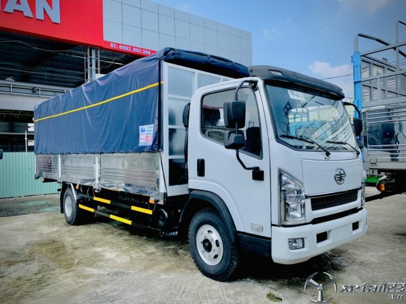 Xe tải 8 tấn cũ, xe tải faw 8 tấn thùng dài 6m3 đời tồn 2017, giá siêu rẻ