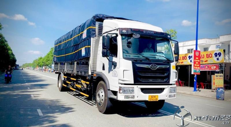 Xe tải 8 tấn giá rẻ , xe tải faw 8-9 tấn thùng dài 8m2 giá rẻ 2020 tại Bình Dương