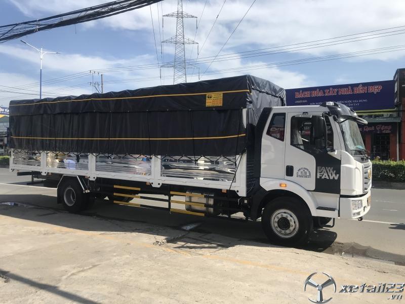 Xe tải 8 tấn thùng dài 10 mét - xe tải faw 8 tấn thùng dài 9m7 nhập khẩu 2020.