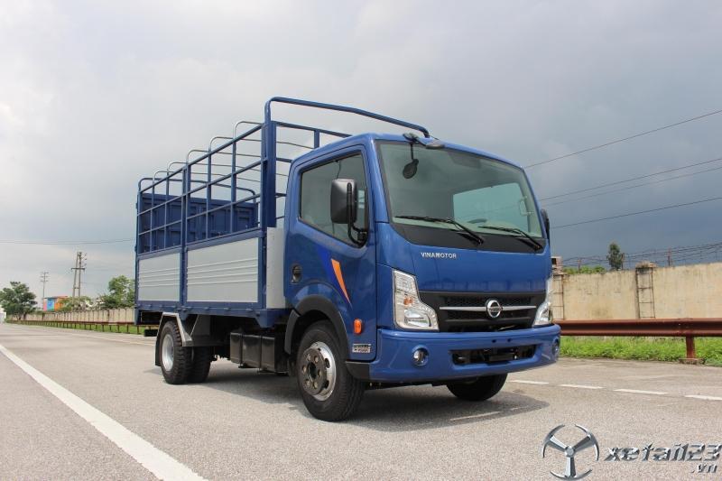 Xe tải Nissan 1.9 tấn thùng dài 4m3, xe tải vinamotor 1t9 vào thành phố giá rẻ.