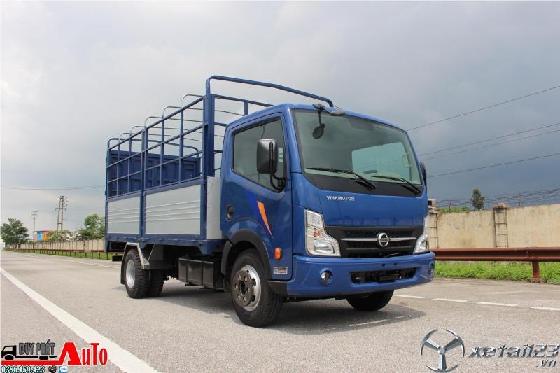 Xe tải Vinamotor 3.5 tấn thùng dài 4m3, giá xe tải nissan 3t5 mới nhất 2020.