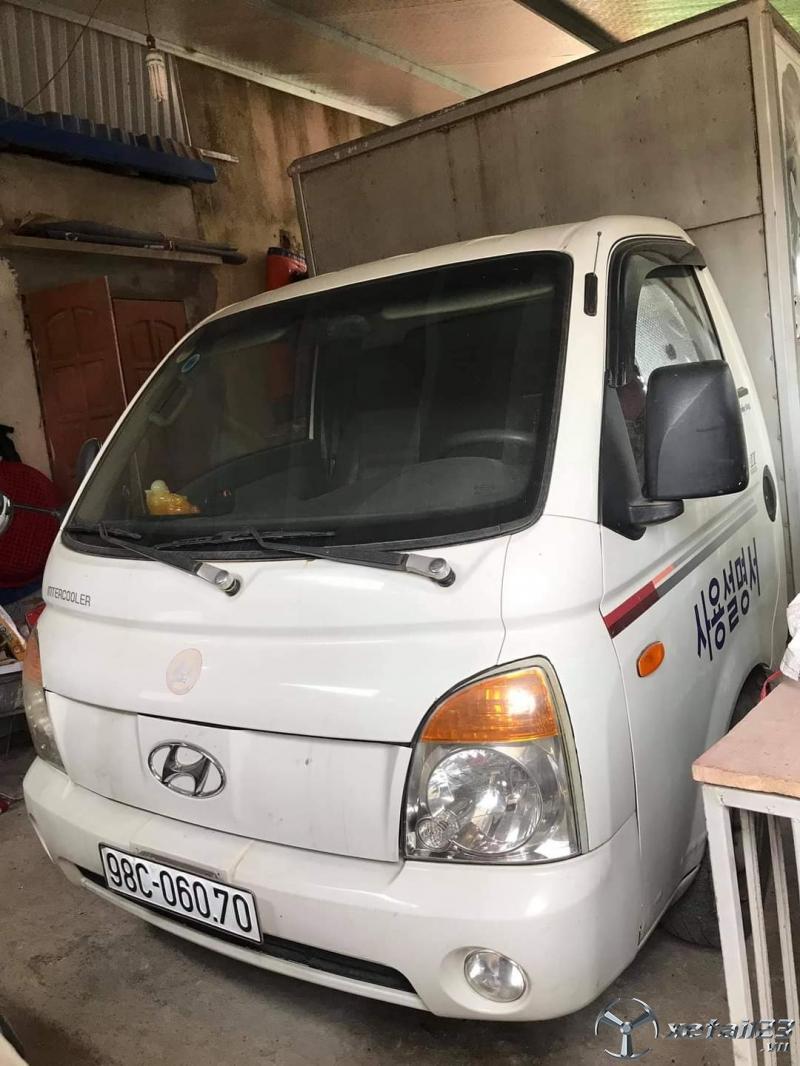 Xe Hyundai porter II đời 2005 thùng kín đã qua sử dụng cần bán với giá chỉ 160 triệu