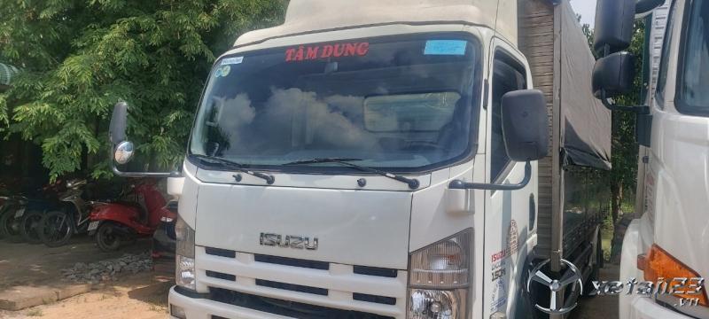 Rao bán xe Isuzu đời 2015 thùng mui bạt với giá siêu rẻ chỉ 520 triệu