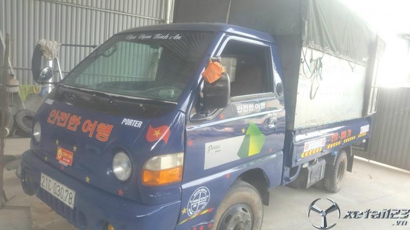 Cần bán gấp xe Hyundai Porter H100 1 tấn đời 2008 thùng mui bạt