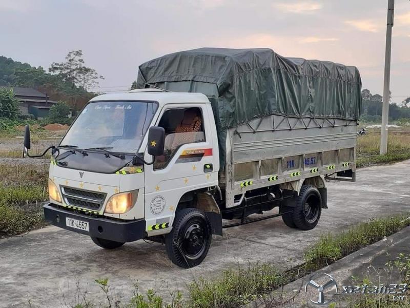 Cần bán xe Thaco đời 2010 thùng mui bạt , giá 80 triệu nhận ngay xe đẹp