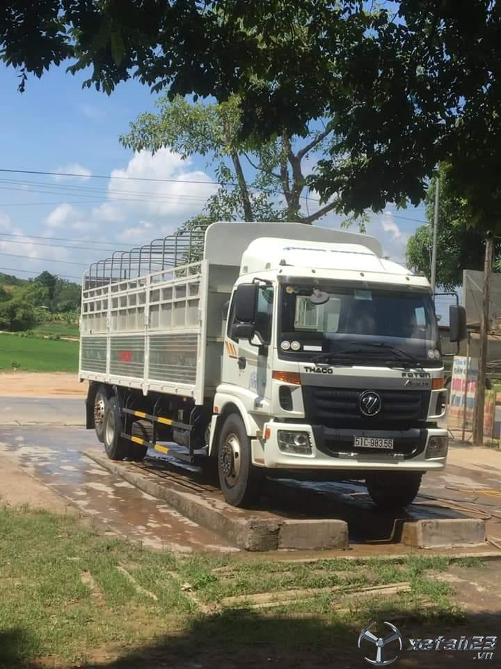 Xe Thaco Auman đời 2017 thùng mui bạt cần bán với giá chỉ 675 triệu