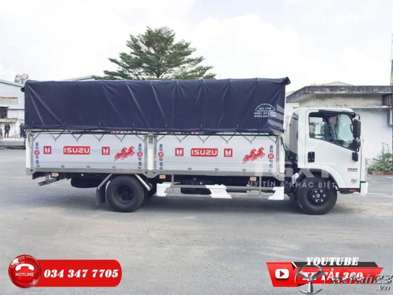 Bán xe tải Isuzu 5 tấn - Trả trước 160 triệu nhận xe