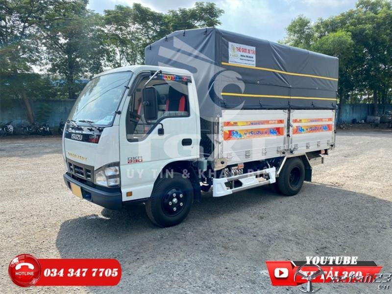 Xe tải isuzu 2t4 - Hỗ trợ 80%