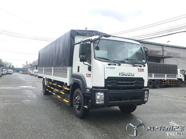 Xe tải ISUZU FVR34QE4 9 tấn  thùng bạt