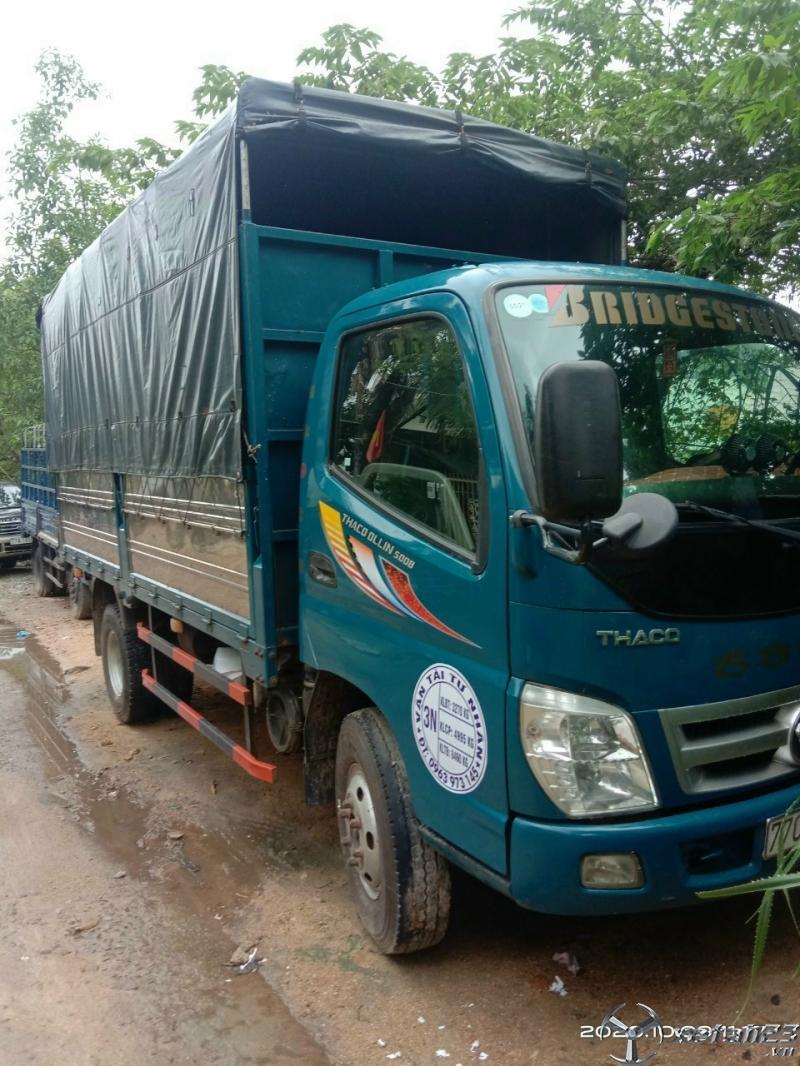 Bán Thaco Ollin 500B đời 2016 thùng mui bạt giá tốt nhât