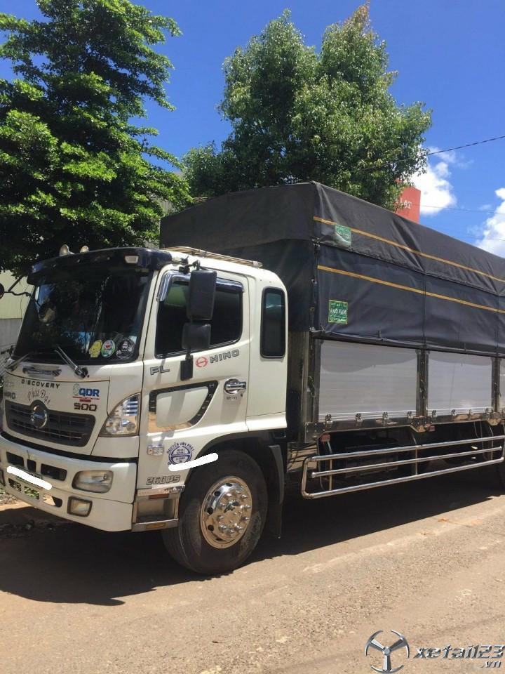 Bán Hino FG sản xuất năm 2017 thùng mui bạt