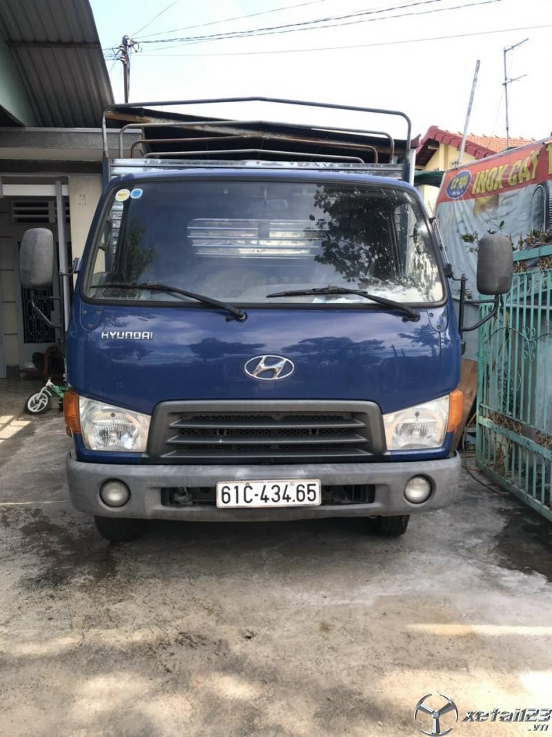Xe Hyundai 2,3 tấn đời 2009 thùng mui bạt đã qua sử dụng cần bán giá rẻ nhất