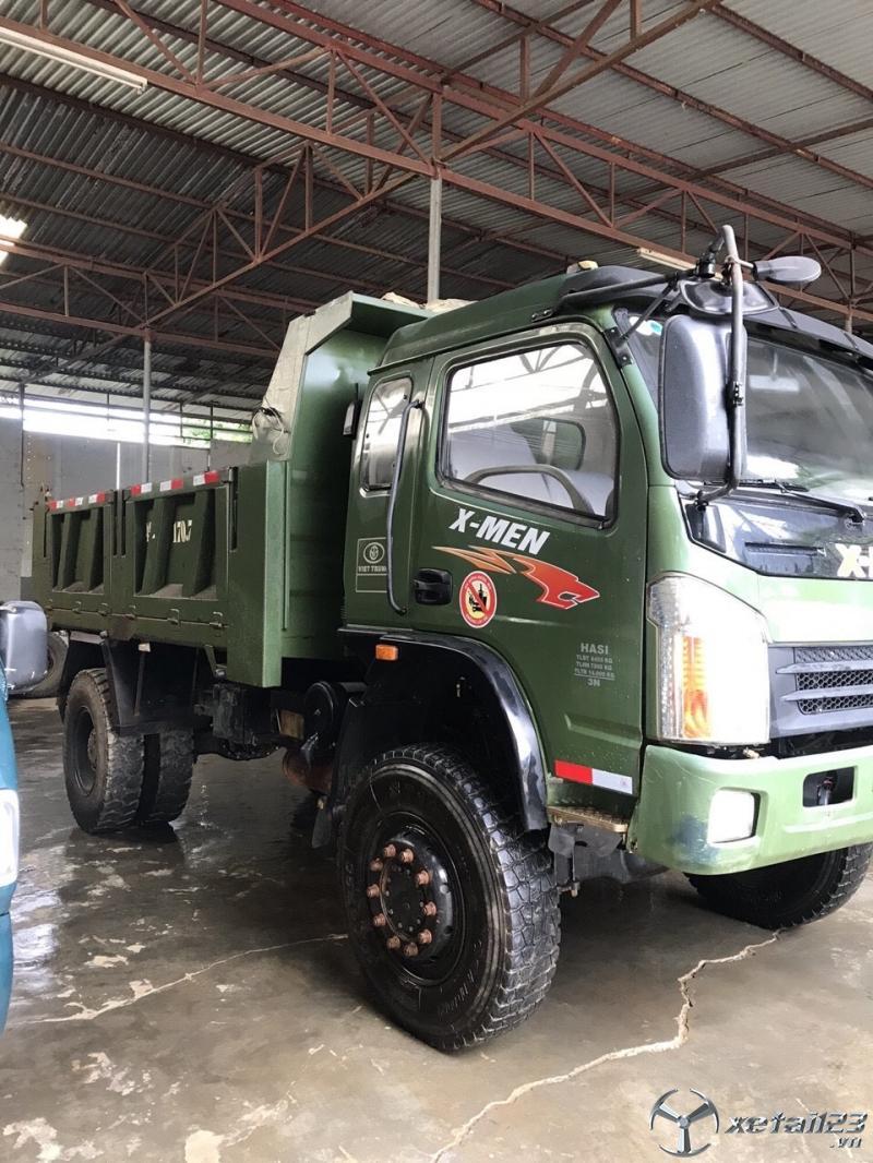 Cần bán gấp ô tô tải tự đổ Việt Trung đời 2017 , đăng kí 2018 giá 435 triệu