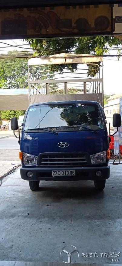 Rao bán xe Hyundai HD72 đồng vàng sản xuất năm 2014 thùng mui bạt với giá chỉ 485 triệu