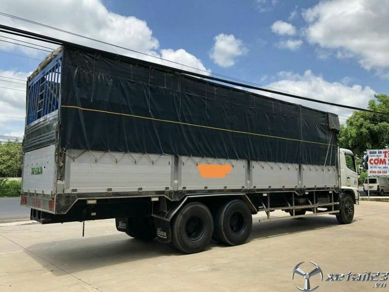 Bán Hino FL 3 chân thùng dài đời 2015 , xe đẹp sẵn giao ngay