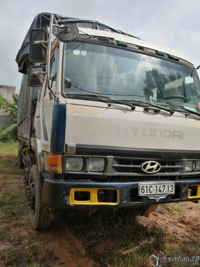 Cần bán xe Hyundai đời 1996 thùng mui bạt giá chỉ 280 triệu
