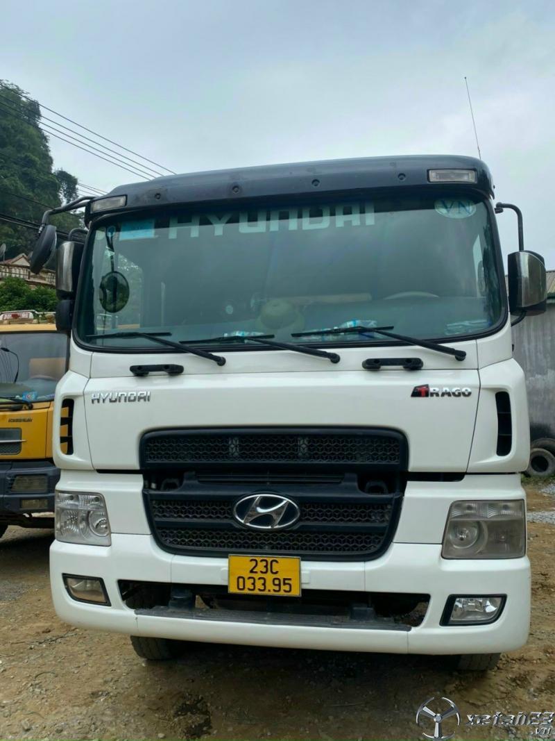 Rao bán xe Hyundai 8 tấn sản xuất 2009 thùng mui bạt