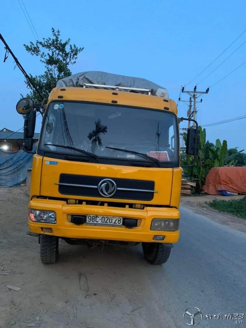 Rao bán xe ô tô tải Trường Giang 2 dí đời 2012 thùng mui bạt, giá chỉ 370 Triệu