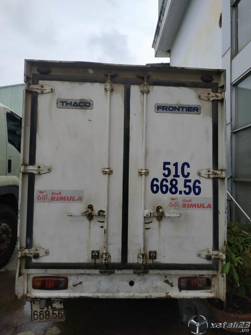 Bán xe Kia K165 tải trọng 2,3 tấn đời 2015 thùng kín giá chỉ 230 triệu