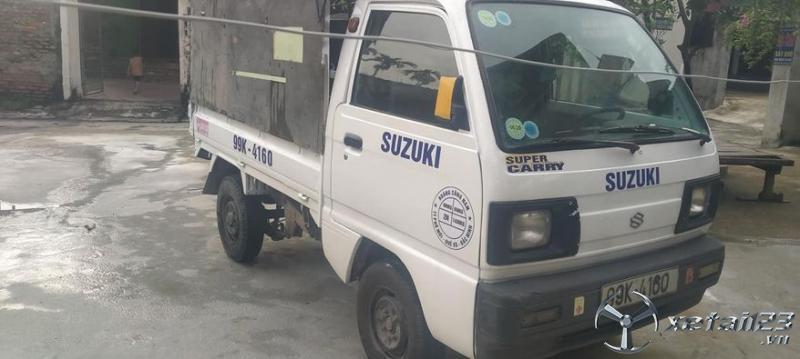 Cần bán xe tải Suzuki đời 2005 thùng mui bạt giá chỉ 68 triệu , sẵn xe giao ngay