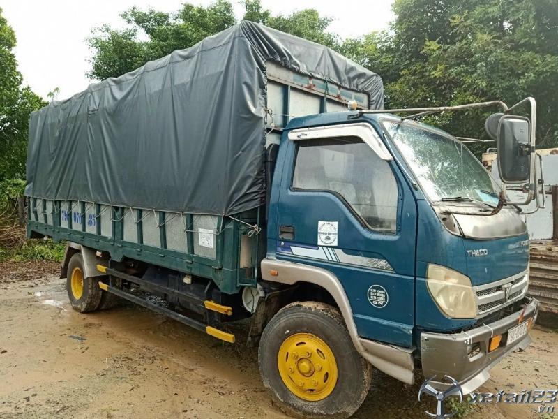 Bán Thaco Forland 3,5 tấn , thùng mui bạt dài 5,8m đời 2010 giá công khai 155 triệu