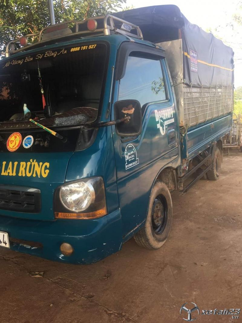 Bán xe Kia sản xuất năm 2000 thùng mui bạt , sẵn xe giao ngay
