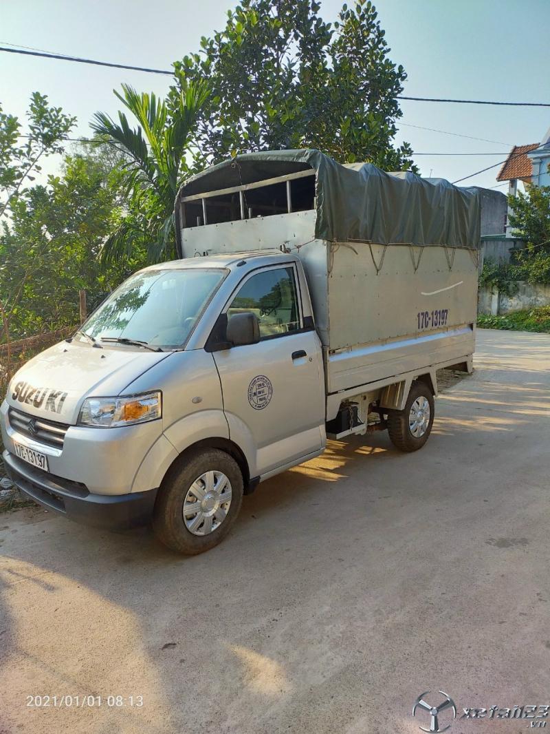 Xe tải Suzuki 5 tạ sản xuất năm 2011 thùng mui bạt cần bán giá rẻ nhất
