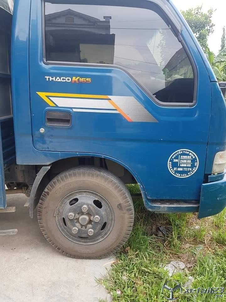 Thanh lý gấp xe Thaco K165 đời 2015 thùng mui bạt giá siêu rẻ chỉ 285 triệu