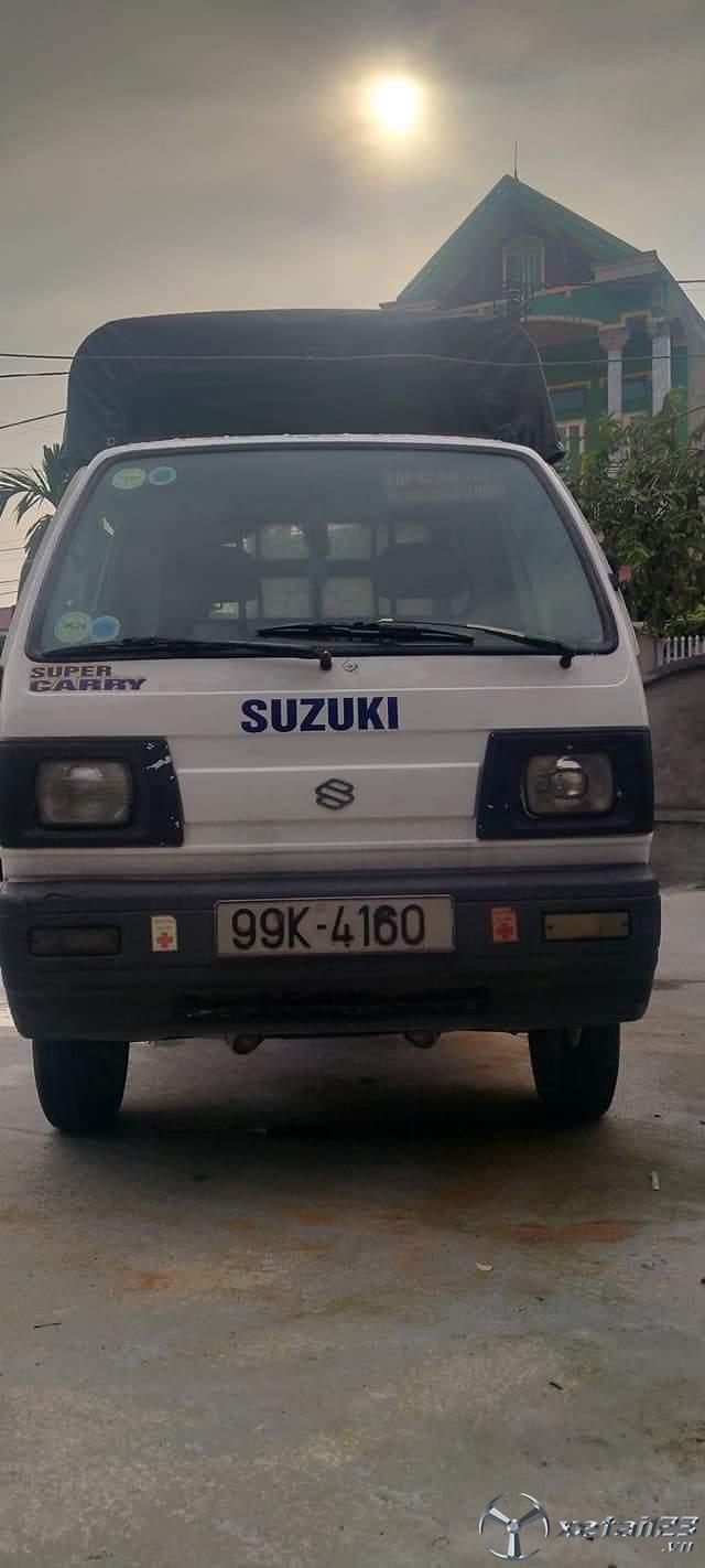 Thanh lý gấp xe tải Suzuki đời 2005 thùng mui bạt giá 72 triệu , sẵn xe giao ngay