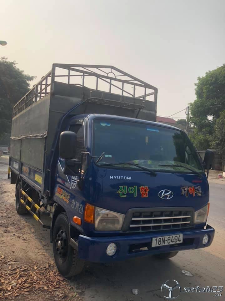 Rao bán Hyundai HD72 giá thương lượng