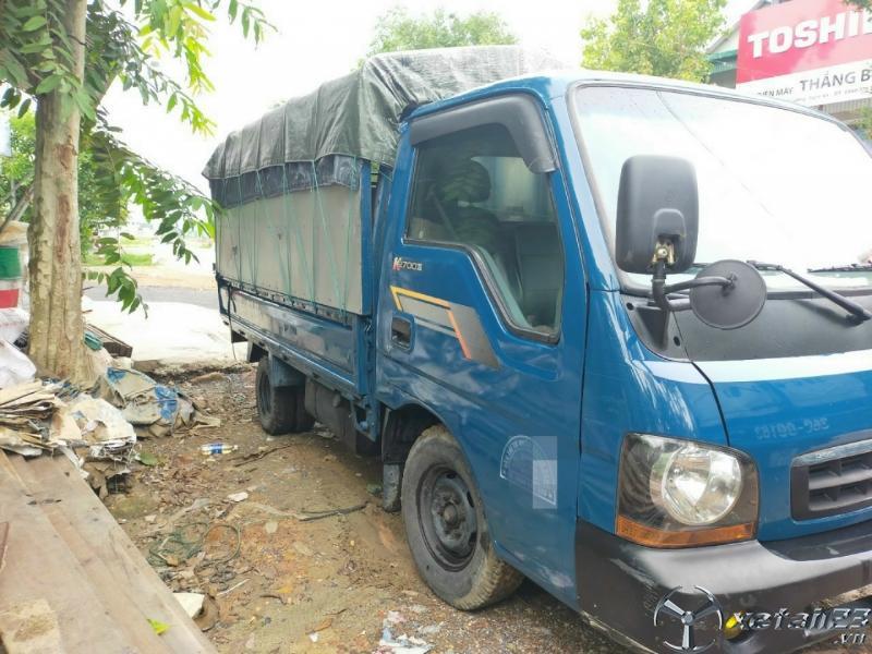 Cần nhượng bán xe Kia K2700 II đời 2007 thùng mui bạt với giá rẻ chỉ 105 triệu