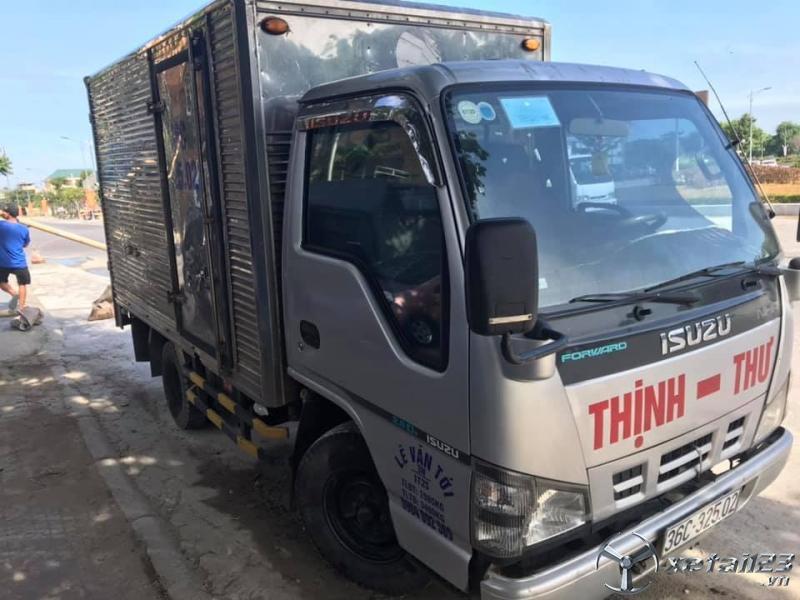 Bán xe tải thùng kín ISUZU, đời 2007