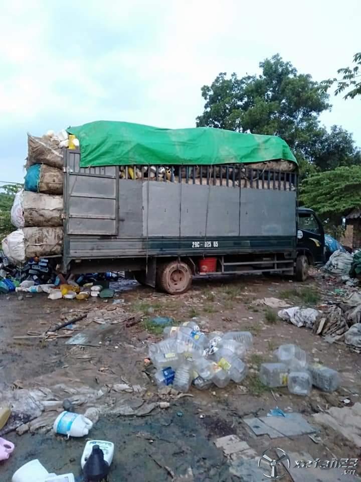 Rao bán xe tải Cửu Long đời 2010 thùng mui bạt,  xe đẹp giá rẻ chỉ 100 Triệu