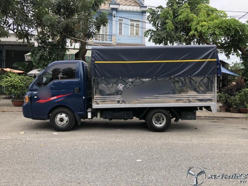Bán JAC tải trọng 1,5 tấn đời 2019 thùng mui bạt