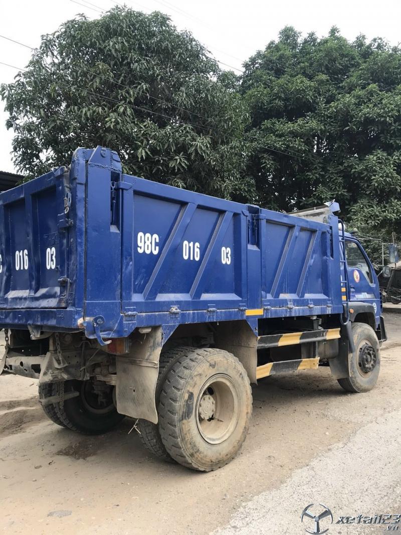 Bán xe ben Thaco FLD 7,5 tấn một cầu đời 2011 , đăng kí năm 2012 giá tốt nhất