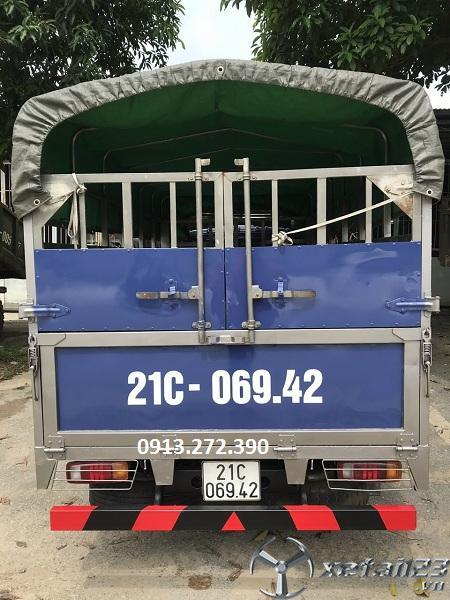 Bán xe Teraco 1,9 tấn thùng mui bạt , máy Hyundai đời 2017