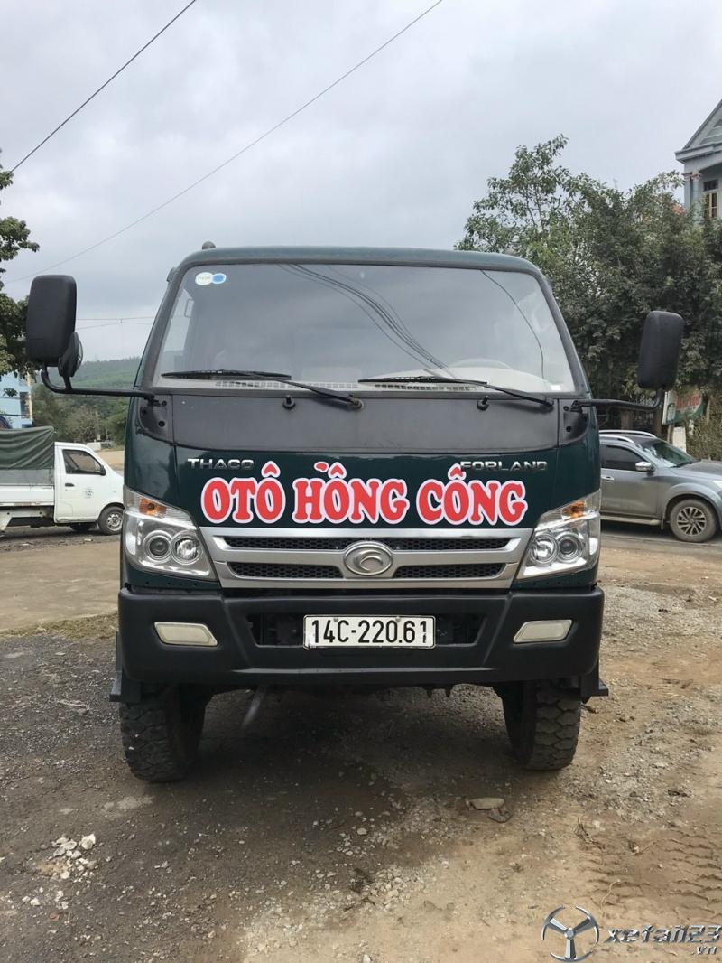 Cần  bán xe ben Thaco Forland 8,3 tấn đời 2017