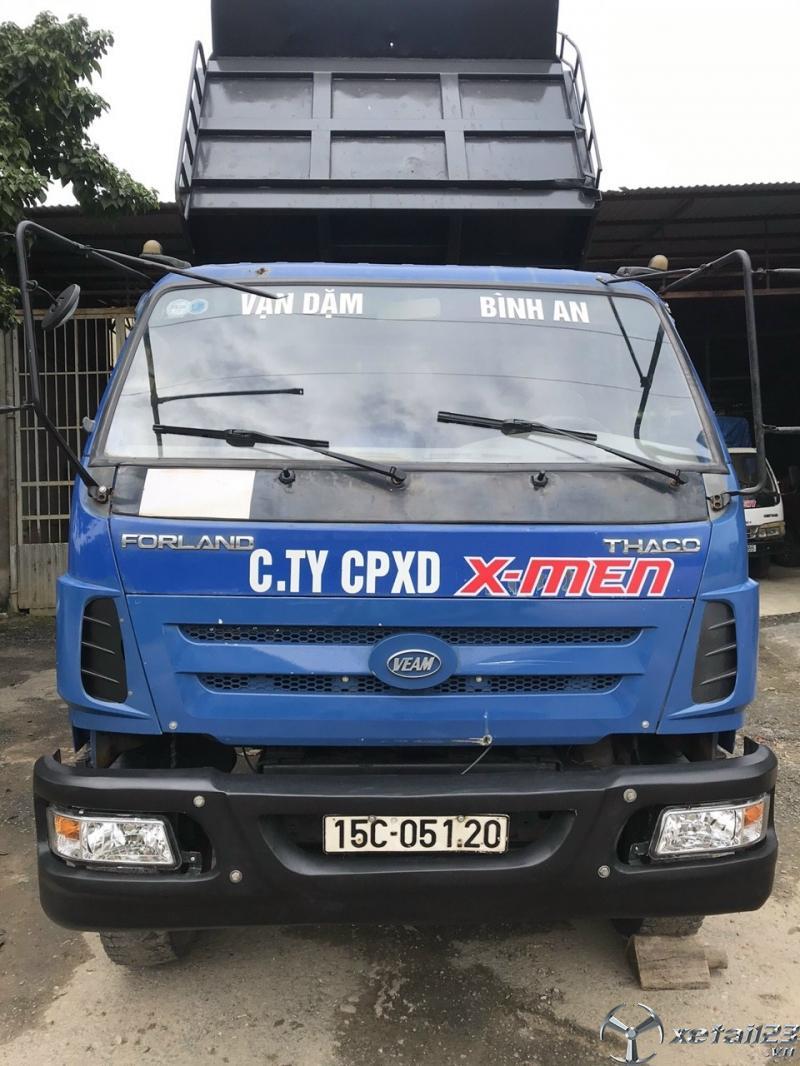 Cần bán xe Thaco Forland 7,5 tấn một cầu , thùng to đời 2012