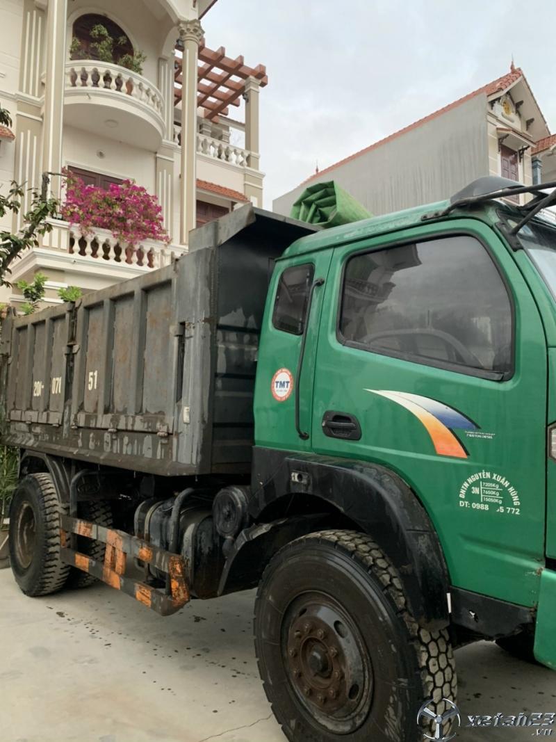 Rao bán xe ben TMT 7,65 tấn đời 2015 giá rẻ nhất