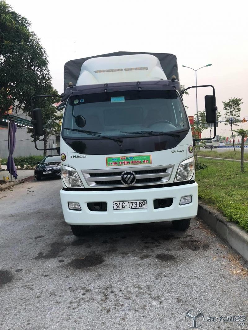 Bán xe tải THACO có mui tại Hải Dương, sản xuất năm 2015