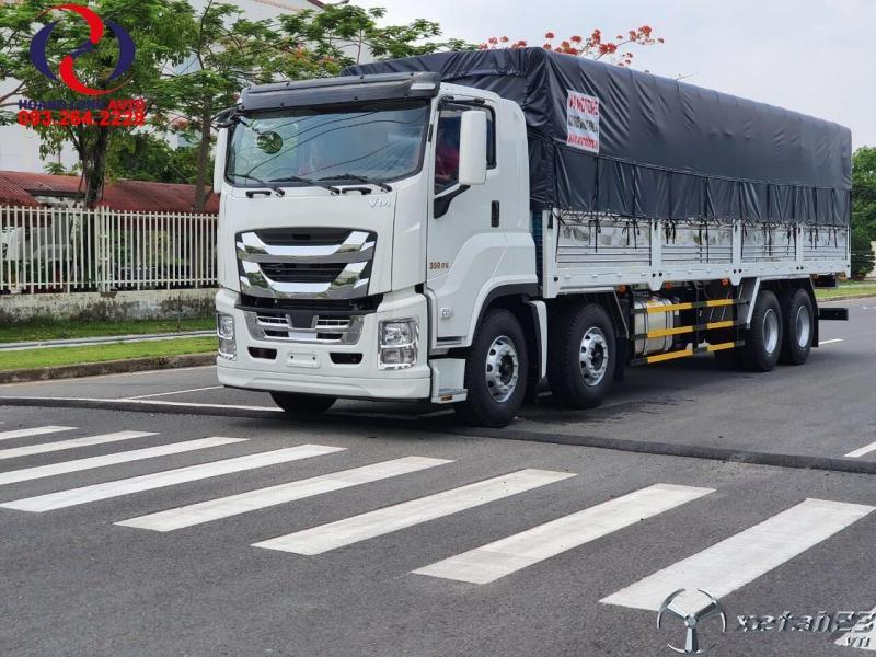 Xe tải 4 chân Isuzu Ginga 2020!!!