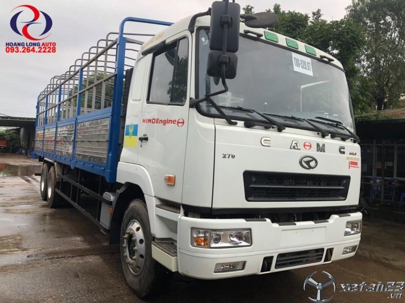 Xe tải CAMC 3 chân máy Hino